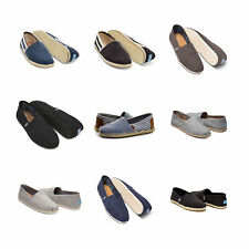 Authentic Toms Shoes New Classic Canvas Slip Ons Loafers Men Sizes Espadrilles