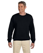 NEW Gildan Pullover Sweatshirt Men's 7.75 oz Heavy Blend 50/50 Fleece Crew 18000