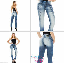 Colombian Jeans Virtual Sensuality Push Up Jeans Butt Lifter Levanta Cola 2016