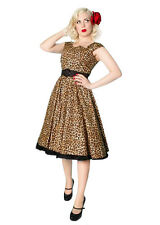 NEW Rockabilly Swing Dress, 1950s Reproduction Full Circle Dress, Last One-Small