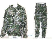 Camouflage 3D Single Hunting Camouflage net suit Ghillie suit Snipe Multi-color