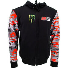 Jorge Lorenzo 99 Moto GP Monster Energy Stripe Hoodie Official 2016