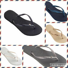 Havaianas Slim With Crystal Glamour Women's Flip Flops all colors and all sizes