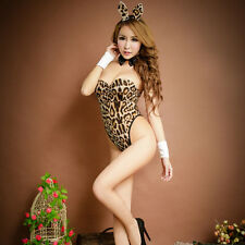 Sexy Bunny Girl Costume Fancy Dress Hen Party Lingerie Outfit 3 Colors GT50 3C