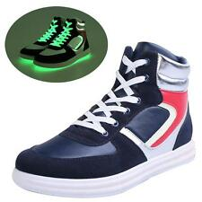 glowing new shoes fluorescent light skate shoes light up shoes for adults