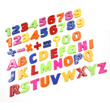 New Set Of Colorful Teaching Magnetic Letters & Numbers Fridge Magnets Alphabet*