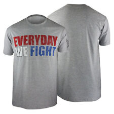 Tapout Everyday We Fight T-Shirt (Gray) - mma ufc street