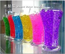 100bags Crystal Mud Soil Water Beads Flower Planting Magic House Decorations