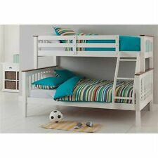 Solid Timber - Double Single Bunk Bed with Mattress Options