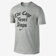 NWT Nike Men's Dri-Fit The Cage Never Stops Short Sleeve Tee T-Shirt Sz M 728035