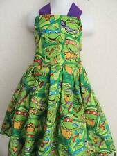 TEENAGE MUTANT NINJA TURTLES CUSTOM BOUTIQUE DRESS SIZE 24 MONTHS 2T 3T 4T 5/6
