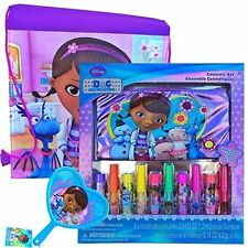 Disney Doc McStuffins Beauty Set, Lip Stick and Mirror, PLUS Doc McStuffin Bag