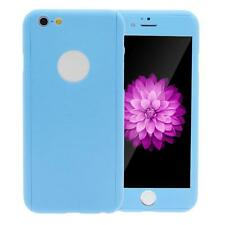 Hybrid 360° Front&Back Hard Case Cover Skin+Tempered Glass Film For iPhone 6 6S