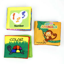 Intelligence development Cloth Bed Cognize Book Educational Toys Kids Baby qing