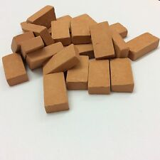 MATTONCINI IN TERRACOTTA SCALA 1:8 MM 15 x 31 x 8 150 pezzi MINIATURE PRESEPE