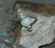 Welo Natural Ethiopian Opal Ring 925 Sterling Silver Jewelry Ring US 2 To 12