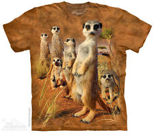 Meerkat Pack The Mountain Adult Size T-Shirt