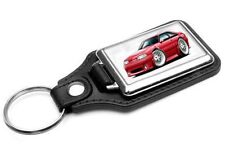1987-93 Ford Mustang GT 5.0 Muscle Car-toon Key Chain Ring Fob NEW