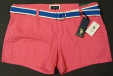 NWT US POLO ASSN  Women's Shorts Pink