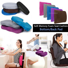 Memory Foam Slow Rebound Back Bottom Seat Cushion Relief Fatigue For Office Home