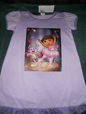 Girls lilac Ballerina Nightie with puff sleeves size 2  3  4  5  6  &   7   BNWT
