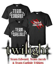 Team Edward Jacob Carlisle Twilight T Shirt Top Men's Women's Vampire