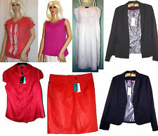 MATALAN Victoria Jacket / Linen Mix Skirt / Fuchsia Top / Coral Blouse BNWT