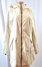 NWT Lululemon Definitely Raining Rain Jacket Sz 10 Angel Wing Cream ANWI Coat