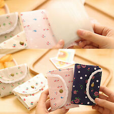 Cute Lace Girls Women Card ID Credit Card Holder Pocket Case Purse Wallet