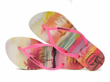 Havaianas Slim PAISAGE Pink Women's Flip Flops All Sizes Free shipping