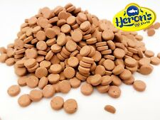 HERONS Premium Cichlid Tablets HIGH PROTEIN FISH FOOD Adhesive Wafers