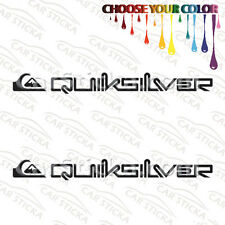 "2 of 8"" Quicksilver Surf /B surf skate car truck window bumper stickers decals"