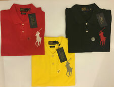 Polo Ralph Lauren Mens Big/small Pony Short Sleeve Custom Fit T-Shirt Top sizes