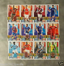 Topps Match Attax Football Premier League 2015-2016 Trading Cards (Base Cards)