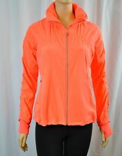 NWT Lululemon Gather Me Slightly Jacket Very Light Flare Coral NEON Sz 6 8 10