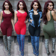 Sexy Women Sleeveless Bodycon Bandage Party Jumpsuit Playsuit Rompers Clubwear