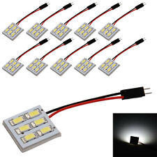 Waterproof White Car 6 SMD 5630 LED Panel Light Dome Bulb 12V Reading Lights New