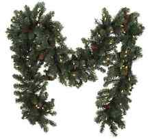 Bethlehem Lights 6' Plug In Garland with Pinecones, H203048