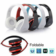 Wireless Bluetooth Stereo Foldable Headset Handsfree Headphone Earphone with Mic
