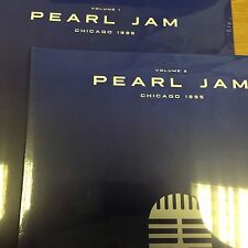 PEARL JAM 'Chicago 1995' Volume's 1 + 2 - 2 x 2 VINYL LP's - NEW AND SEALED