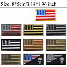 USA AMERICAN FLAG TACTICAL US ARMY MORALE MILITARY BADGE PATCH