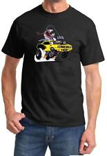 1971 Plymouth Cuda Monster Muscle Car Tshirt NEW