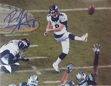 Denver Broncos Brandon McManus Autographed Signed Super Bowl Front Photo JSA PSA