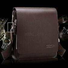 Mode Men's PU Leather Handbag Shoulder Bag Messenger Case Cover Laptop Briefcase