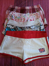 ladies/girls bed shorts/ casual shorts size 8/10, 10 ,age11/12  USED