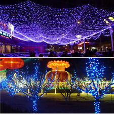 200 LED 22M Solar Powered Fairy String Lights Garden Christmas Outdoor Indoor UK