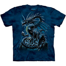 SKULL DRAGON T-Shirt by The Mountain Fantasy Death Sizes S-3XL NEW