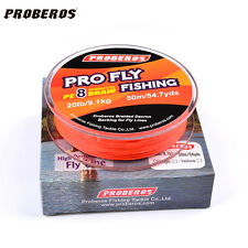1PC Fly Lines 50M-100M Backing Fishing Line 20LB/30LB Fly Backing Line with Box