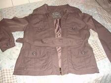 Ladies Lightweight Part Shell Coat  -  Size 12 from Vintage Clothing