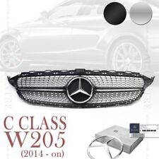 MERCEDES BENZ W205 C CLASS SPORT MESH FRONT GRILL GRILLE 2014-2016 4 VERSIONS